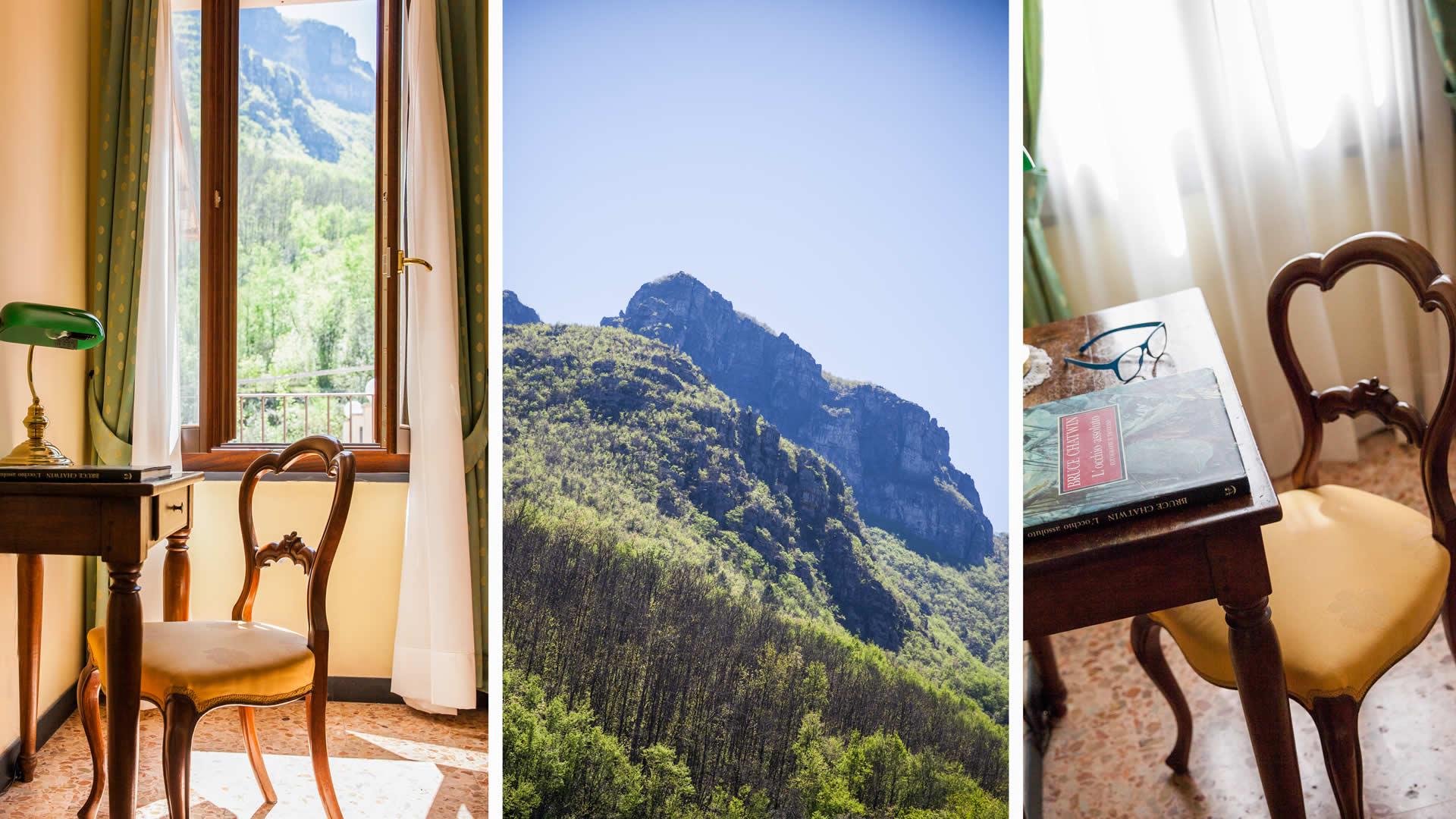 Camere hotel entroterra albenga soggiorno charme natura savona for Soggiorno in liguria